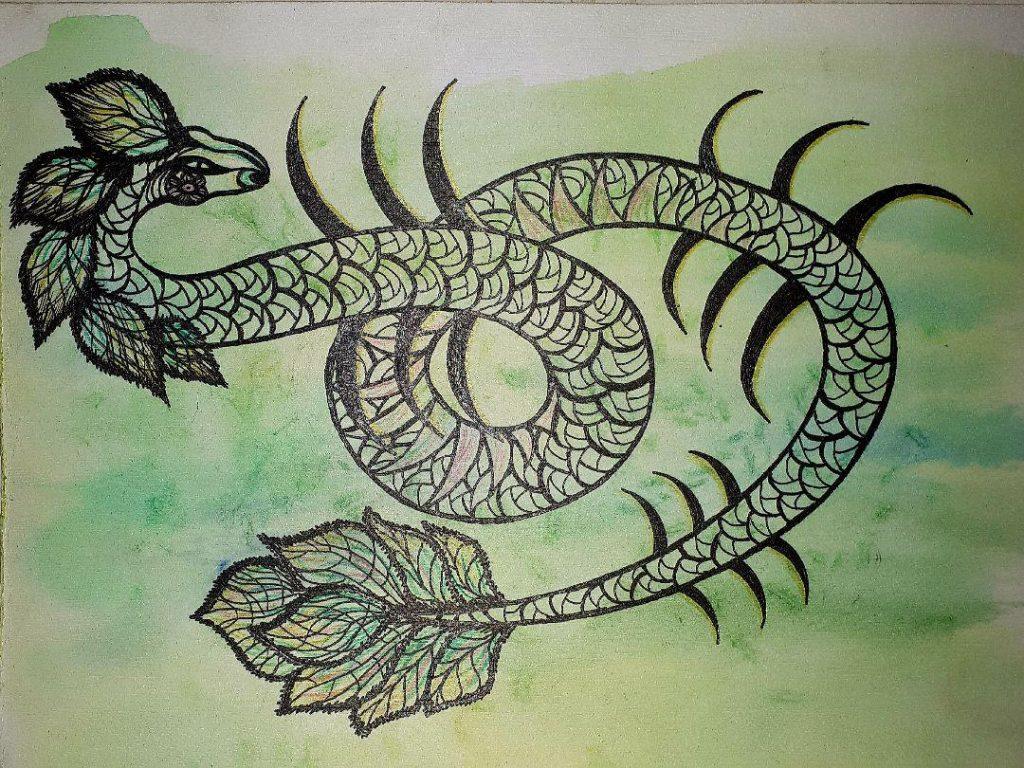 Деревянный дракон, китайская метафизика, год дракона, земные ветви