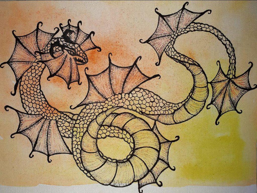 Земляной дракон, китайская метафизика, год дракона, земные ветви