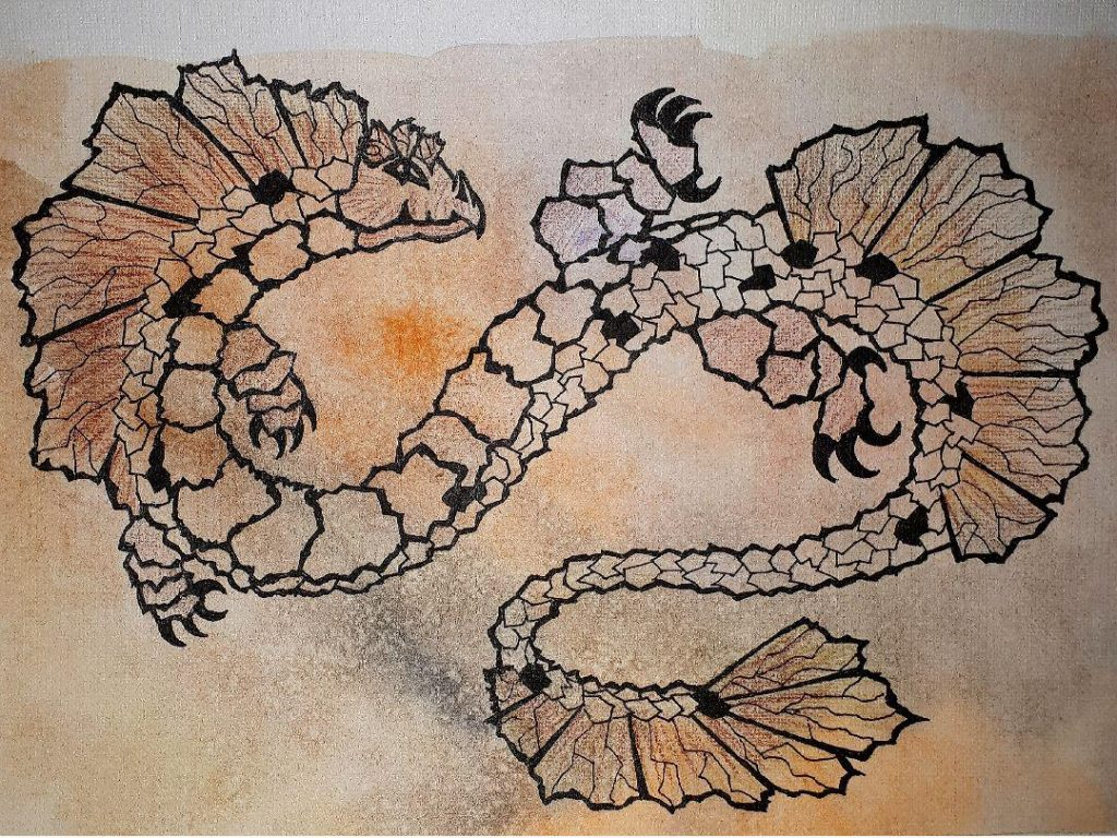 Огненный дракон, китайская метафизика, год дракона, земные ветви