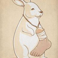 Амулет, талисман, кроличья лапка