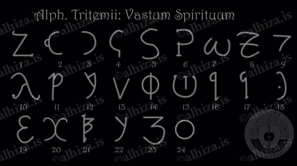 Alph. Trithemii - Vastum Spirituum - Духи Отходов